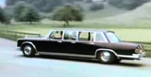 "600 Pullman Six-Door in the 1976 film ""The Swiss Conspiracy"""