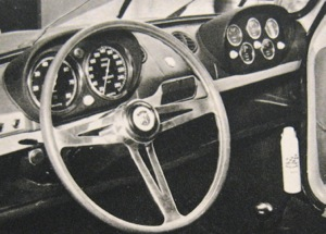 Upgraded instrumentation and Abarth steering wheel