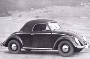 VW 2-Seat Cabriolet by Hebmuller