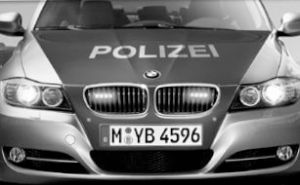 BMW 3-Series E90 Authorities Vehicle