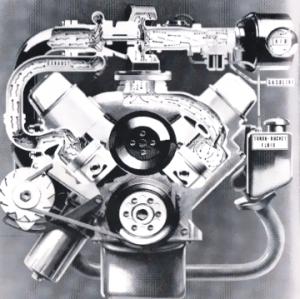 F-85 Jetfire engine cross-section
