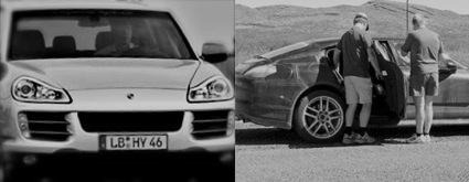 Porsche Cayenne and Porsche Panamera