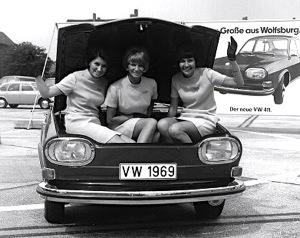 Volkswagen 411/412, 1968-1974