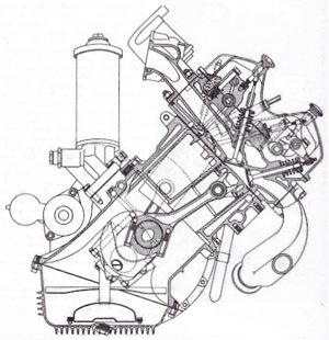 Fulvia 1.1 liter Aluminum 13˚ DOHC V4