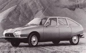 Citroën GS, 1970-1986