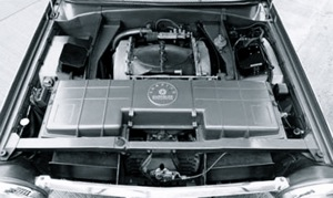 Chrysler Turbine Car with 4th Generation Gas Turbine