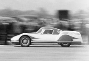 Fiat Turbina at speed; 23 April, 1954