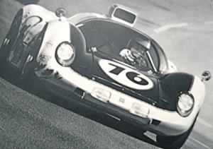 Howmet TX Continental Turbine at Daytona, April 1968. Photo: Bob d'Oilvo
