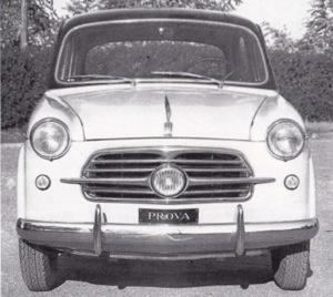 1953 Fiat 1100 Tourismo Veloce