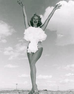 Miss Atomic Bomb, Las Vegas, 1957