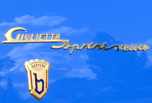 Alfa Romeo Giulietta Sprint Veloce. True automotive jewelry.