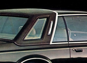 1980 Chrysler Cordoba Crown Corinthian Edition with Reptile Grain padded landau roof, opera lamp and gold-trimmed opera window