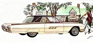 1963 Thunderbird Landau. A disquieting mishmash of