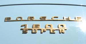 Porsche 356A Speedster 1600 Super