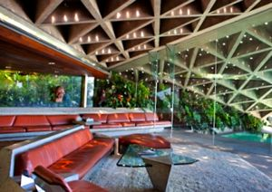 Sheats House, Los Angeles,  California, John Lautner