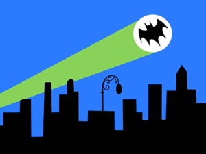 Batman Gotham City Bat Signal