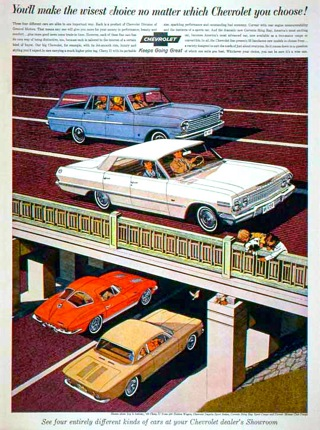 You'll Make The Wisest Choice No Matter Which Chevrolet You Choose, 1963