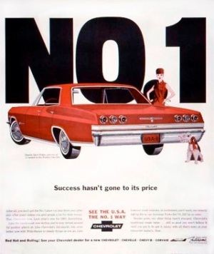 Success Hasn't Gone To Its Price, 1965