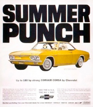 Summer Punch: Corvair Corsa, 1965