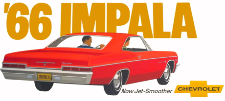 Billboard, 1966 Impala Sport Coupe