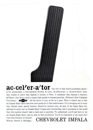 Accelerator, 1962