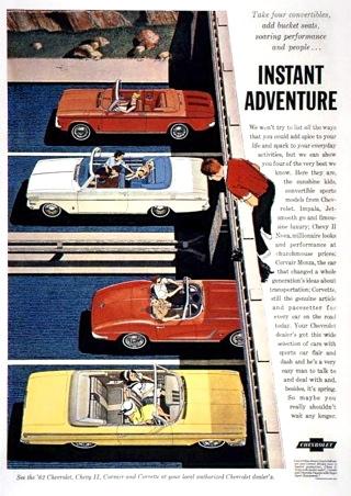 Instant Adventure, 1962